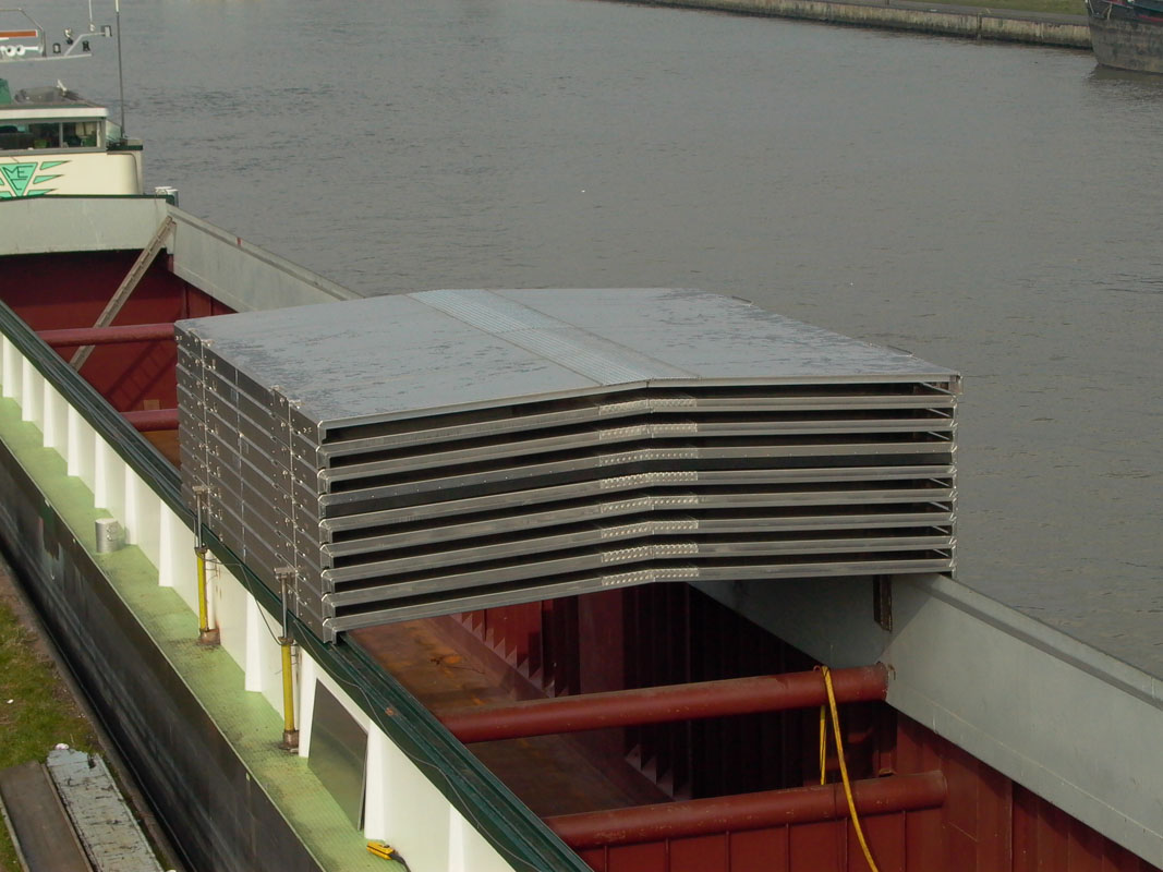 Blommaert Aluminium Slide Hatches For Bulk Carriers And Inland Vessels